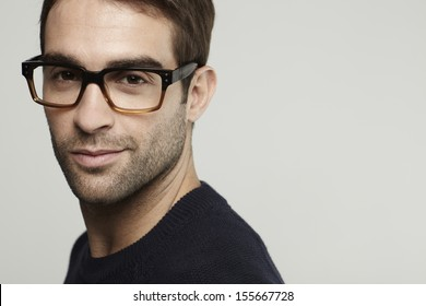 a915e1623a9d Glasses Man Images, Stock Photos & Vectors   Shutterstock