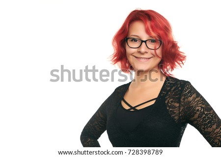 Mature redhead and black