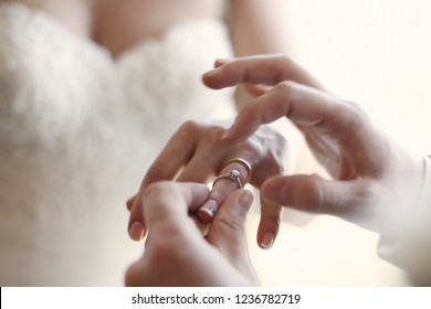 Closeup Propose for get marry with a Beautiful Wedding Ring