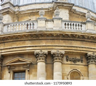 Close-up of the Radcliffe Camera, Oxford.