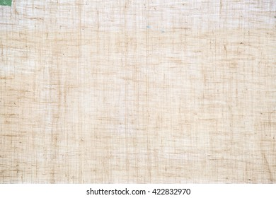 Closeup Raw Hessian jute background Burlap Linen brown color texture concept for empty space for text background