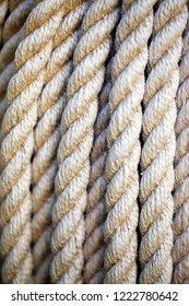 Close-up rope view