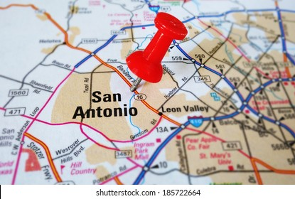 San Antonio Texas On a Map Stock Photos, Images ... on cleveland ohio map, corpus christi texas map, texas city map, gilbert texas map, laredo texas map, houston texas map, texas rivers map, kelly afb texas map, galveston texas map, aransas pass texas map, marble falls texas map, lytle texas map, united states map, texas county map, odessa texas map, lackland texas map, gonzales texas map, fort worth texas map, plano texas map, bexar county map,