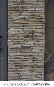 closeup sandstone structure