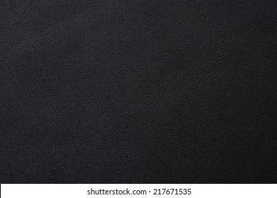 Closeup of seamless black leather texture for background