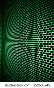 closeup of seamless  metallic grid