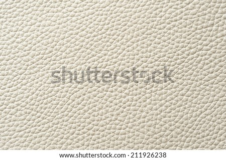 Closeup Of Seamless White Leather Texture For Background