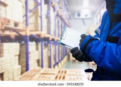 Logistics Cold Storage Images, Stock Photos & Vectors