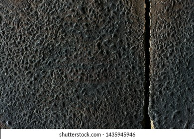 close-up shooting of the old icon, texture of the spoiled varnish. restoration