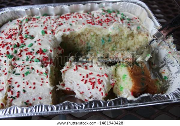 Superb Closeup Shot Birthday Cake White Frostingred Stock Photo Edit Now Personalised Birthday Cards Cominlily Jamesorg