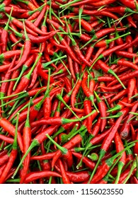 Closeup shot of Chill peppers as background