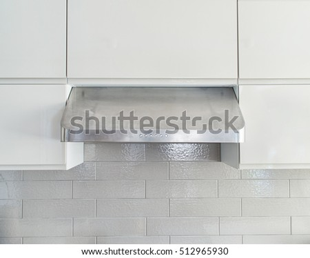 Closeup Shot Commercial Grade Under Cabinet Stock Photo Edit Now