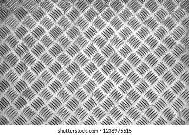 Close-up of a Silver colored metallic Texture or Silver Background .