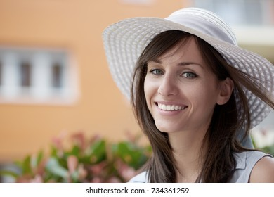 Close-up of smiling girl