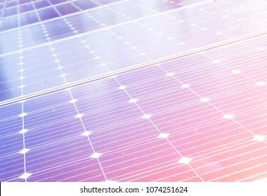 Closeup solar panel surface background