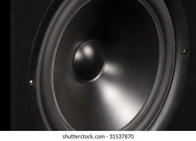 close-up speaker