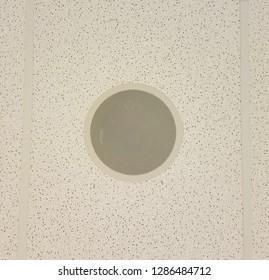 Closeup Speaker ceiling