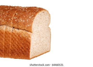 closeup stone milled bread shallow DOF