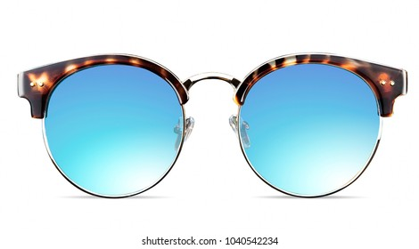 closeup of sunglasses