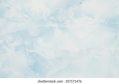 Closeup surface blue marble wall texture background