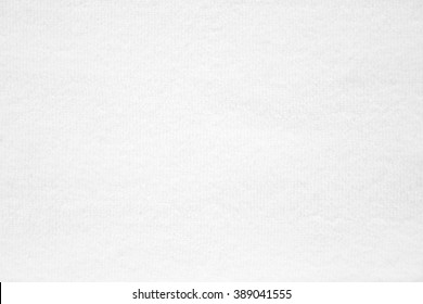 closeup surface detail of abstract white towel fabric cloth texture background