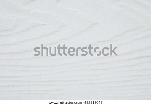 Closeup surface wood pattern at white wood board at the wall texture background