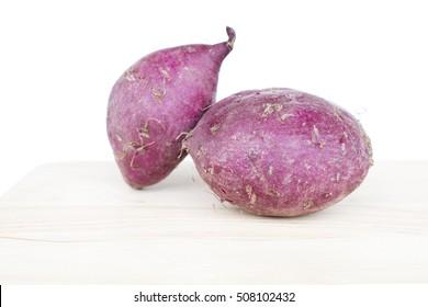 Closeup of sweet potato.