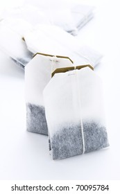 Close-up of tea bags