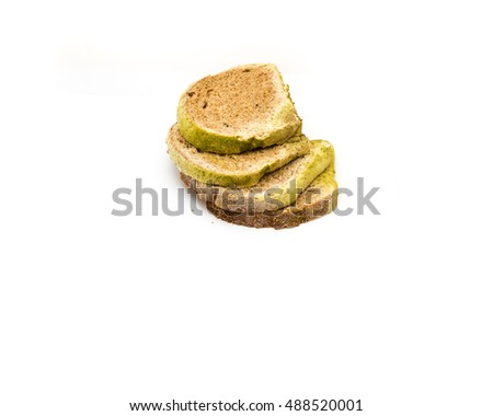 Closeup Top View Stack Slices Mold Stock Photo Edit Now