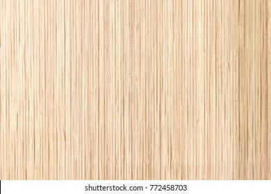 Closeup tropical bamboo mat wall texture background