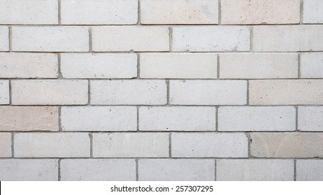 Close-up View of a Concrete Block Wall