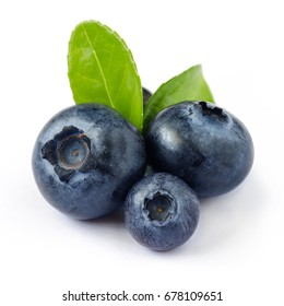 Close-up view of fresh Blueberries. Healthy eating and nutrition