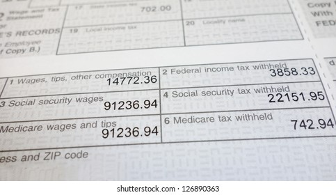 w2 form deductions  Imágenes, fotos de stock y vectores sobre W17 Form | Shutterstock