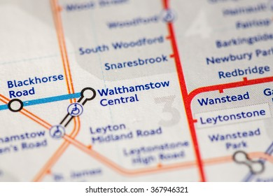 Closeup of Walthamstow Central