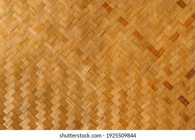 closeup weave wood texture background