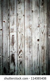 Closeup of white wood planks, texture background