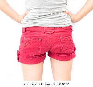 butt closeups Lesbian