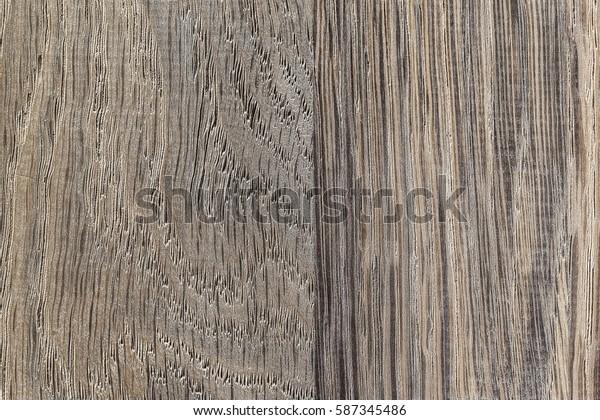 Closeup wooden texture of bog oak background.