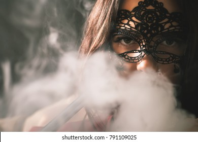 Face In Smoke Stock Photos, Images \u0026 Photography