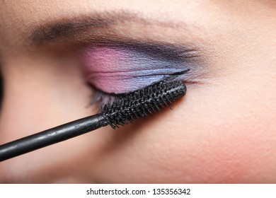 Coloring Eyebrows Eyelashes Images, Stock Photos & Vectors ...