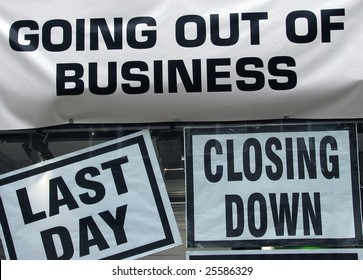 Closing Down Business Images, Stock Photos & Vectors | Shutterstock