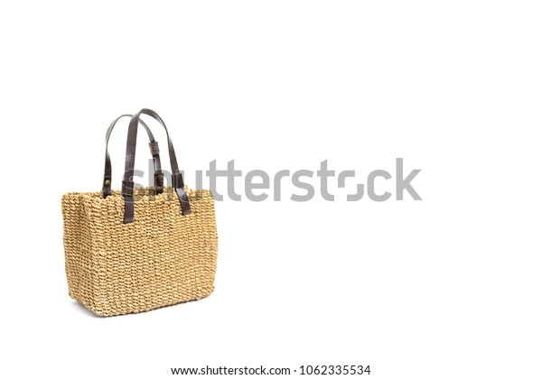 Cloth bag isolated on a white background,