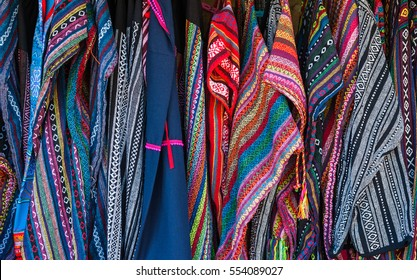 Cloth with Hmong ethnic patterns. Hmong are an ethnic group from the mountain regions of China, Vietnam, and Thailand. handmade Thai traditional Hmong fabric, Thai Thai traditional ethical pattern