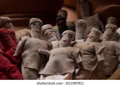 cloth voodoo dolls