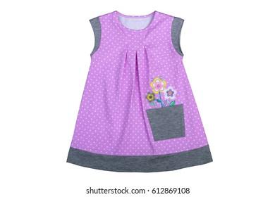 2432bbe4d Baby Girl Summer Sleeveless Dress Dark Stock Photo (Edit Now ...