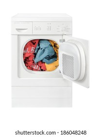 Clothes drying tumbler dryer