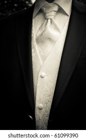 clothes of the groom