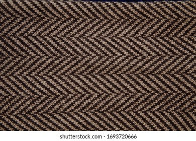 A clothes of herringbone pattern