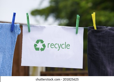 Recycle Clothes Images, Stock Photos & Vectors | Shutterstock