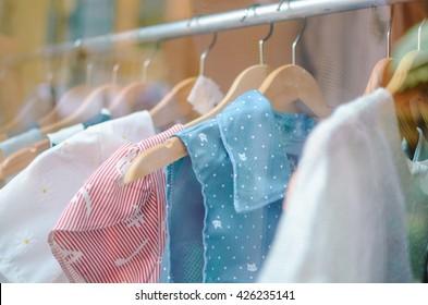 clothes selective focus